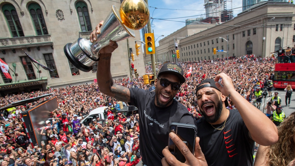 To Be a Fan: Sports Hype and The NBA Championships